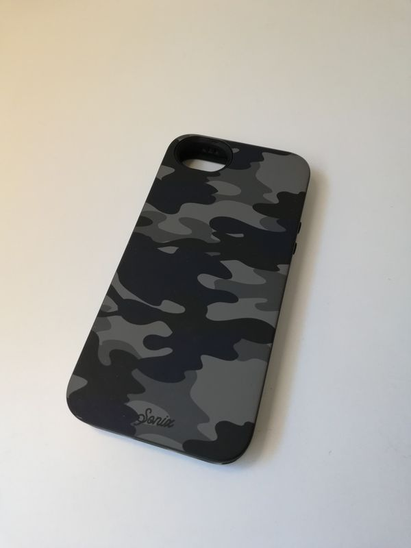 Sonix iphone 5 black and white camo case
