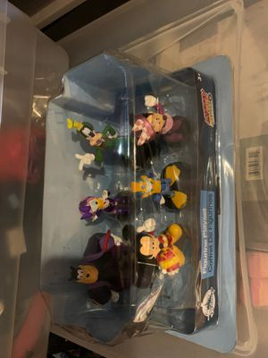 New Disney figurine Playset Mickey and Roadster Racer for Sale in Houston, TX