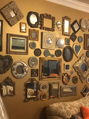 Mirrors mirrors all sizes and shapes for Sale in Port St. Lucie, FL