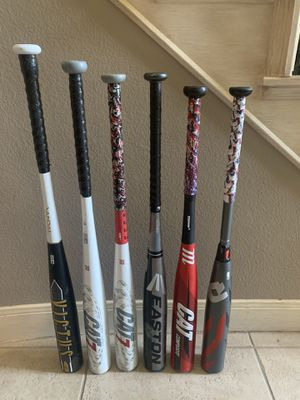 Baseball Bats -5,-3 for Sale in Missouri City, TX