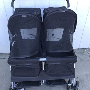 DOG STROLLER DOUBLE for Sale in West Carson, CA