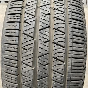 (1)255-50-19 SINGLE USED TIRE CONTINENTAL for Sale in Los Angeles, CA