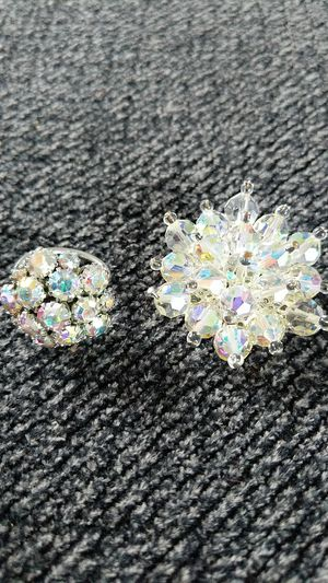 Vintage Aurora Ring and Brooch Set for Sale in Goshen, IN