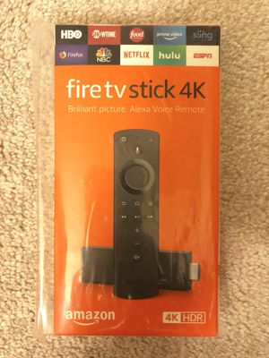 Brand new sealed Amazon fire tv stick 4K with Alexa voice remote for Sale in Arcadia, CA