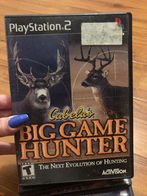 Cabelas big game hunter ps2 for Sale in Miami, FL
