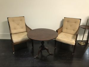 Antique Bergère Library Chairs for Sale in West Hollywood, CA