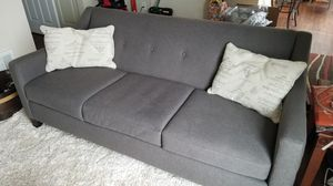 Cloth couch for Sale in Tacoma, WA