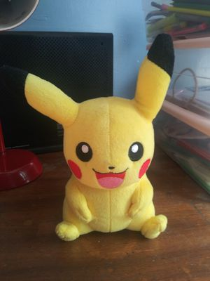 Tomy Pikachu Pokemon plushie for Sale in Chicago, IL