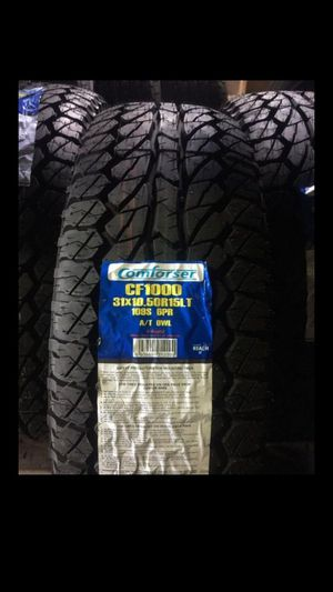 MONKEY wheels and tires 31 1050 15 for Sale in Phoenix, AZ