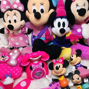 Huge Minnie Mouse Plush Toy Lot Disney Minnie Toys for Sale in Largo, FL