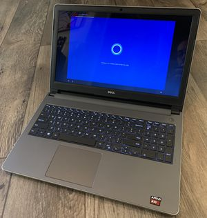 "Dell Inspiron I5555 15.6"" Touchscreen Windows 10 Notebook for Sale in Las Vegas, NV"