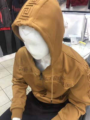 Men's zip up hoodie track jacket sizes small large XL store pick up for Sale in Los Angeles, CA