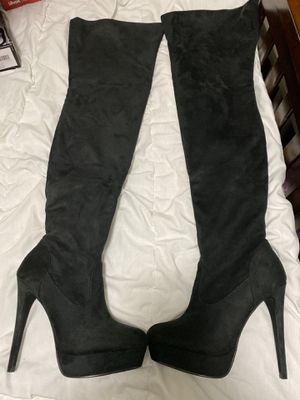 Beautiful New Suede Over The Knee Boots Size 7.5 for Sale in Dallas, TX