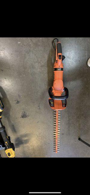 Black and decker hedge trimmer for Sale in San Dimas, CA