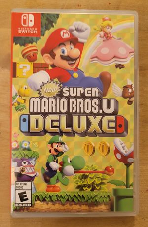 Super Mario Bros U Deluxe Game for Nintendo Switch for Sale in Los Angeles, CA