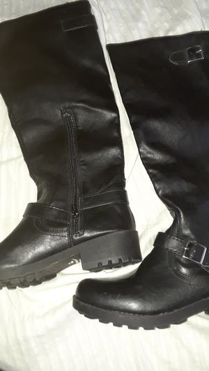 Tough Ladies Black Boots - New Sz 9 for Sale in Livermore, CA