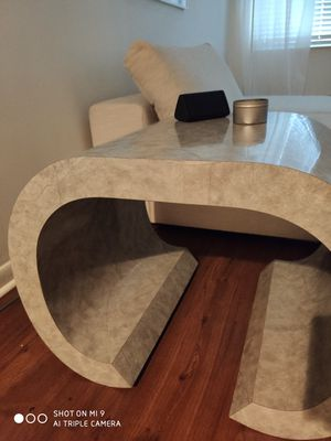 Mid Century Modern Curved Table for Sale in Boca Raton, FL