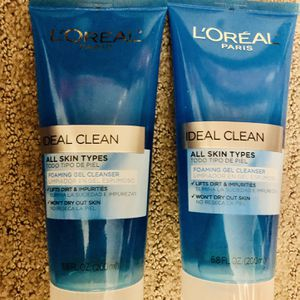 L'Oreal Paris Ideal Clean Daily Foaming Gel Cleanser, 6.8 fl. oz. for Sale in Hartford, CT
