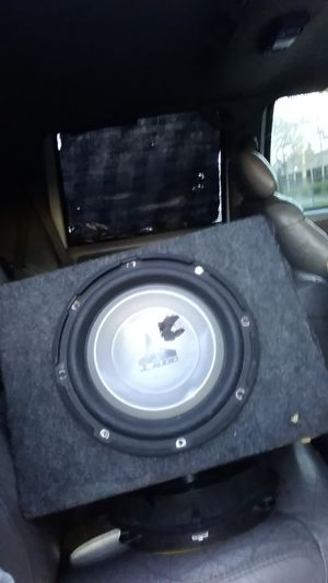 """10"""" jl audio subwoofer in custom box for Sale in North Highlands, CA"""
