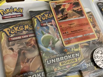 Unbroken Bonds Cards 3 Packs Blister Pokémon for Sale in Rosenberg,  TX