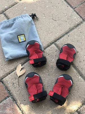 Dog Boots - Ruffwear (size S, worn by 50 lb dog) for Sale in San Luis Obispo, CA