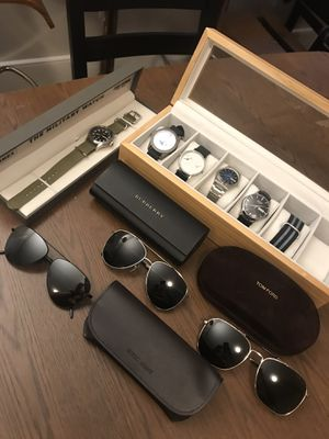 Luxury Watch & Sunglass Collection - Mint Condition for Sale in Cambridge, MA