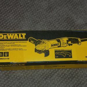 """NEW Dewalt Corded 4.5"""" / 6"""" Angle Grinder for Sale in Tacoma, WA"""