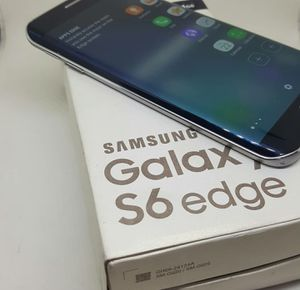 Samsung Galaxy S6 Edge , UNLOCKED for All Company Carrier, Excellent Condition like New for Sale in Springfield, VA