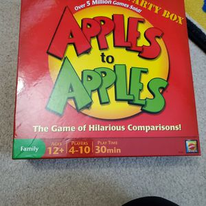 Apples To Apples Card Game for Sale in Eau Claire, WI