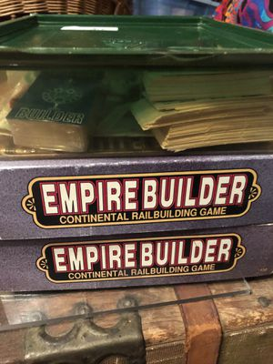 Empire Builder game pieces large lot -no map for Sale in Minneapolis, MN