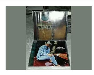 Nickelback and alan Jackson cd's for Sale in Tuscola, TX