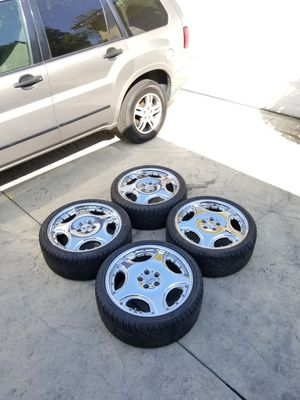 20inch Lorinser LM1 Rep Wheels 5x112 Mercedes Benz for Sale in Los Angeles, CA