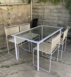 Vintage Table And Chair Set Giandomenico Belotti For Flyline for Sale in Pasadena,  CA