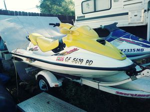 2&3 seater jet skiis on double trailer for Sale in Bethel Island, CA