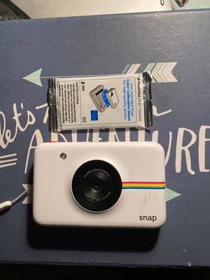 Polaroid snap camera with film for Sale in Fort Lauderdale, FL