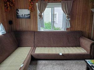 Two piece sectional couch for Sale in Portland, OR