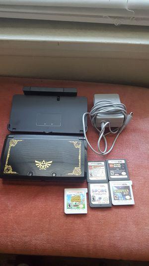 Nintendo 3ds Zelda Edition w 5 games for Sale in Riverside, CA