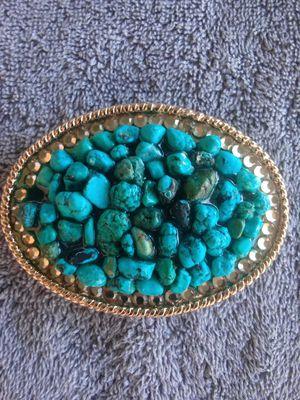 Turquoise Belt Buckle (imitation). New. for Sale in Phoenix, AZ
