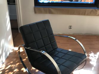 Modern Leather Rocking Chair for Sale in Los Angeles,  CA