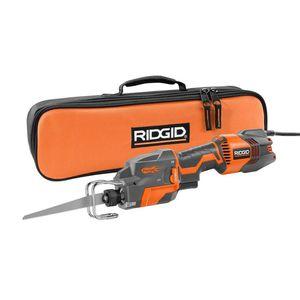 RIDGID Thru Cool 6 Amp 1-Handed Orbital Reciprocating Saw for Sale in Temple, GA