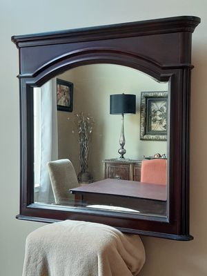 Antique wood frame mirror for Sale in York, PA