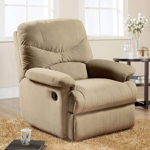 Recliner assembled light brown for Sale in Fort Worth, TX