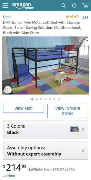 Twin Kids Bed Frame for Sale in Everett, WA