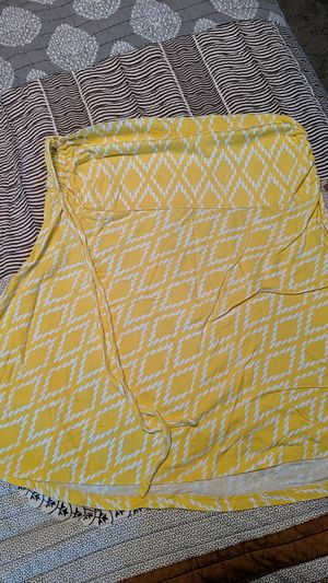 Bright yellow mini skirt, size medium , Patagonia. Can also be converted to tube top for Sale in Simpsonville, SC