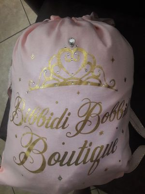 Princess Rapunzel Dress, Pony Tail and Backpack for Sale in Miami, FL