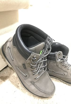 Dark greyTimberland hiking boots size 8.5 for Sale in Westminster, CO