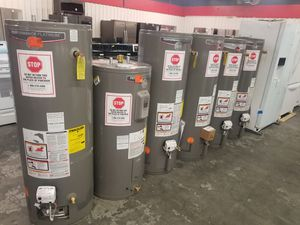 Gas and Electric Water 💧💧💧 Heaters. Limited supply available. We finance for Sale in Houston, TX