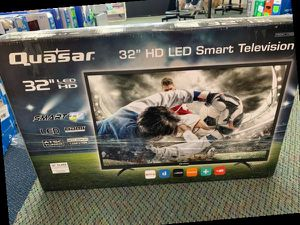 "Brand New 32"" Quasar TV Open box w/ Warranty OH5 for Sale in Mesquite, TX"
