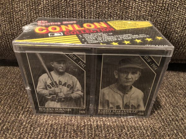 1991 The Sporting News CONLON COLLECTION EDITION COMPLETE SET