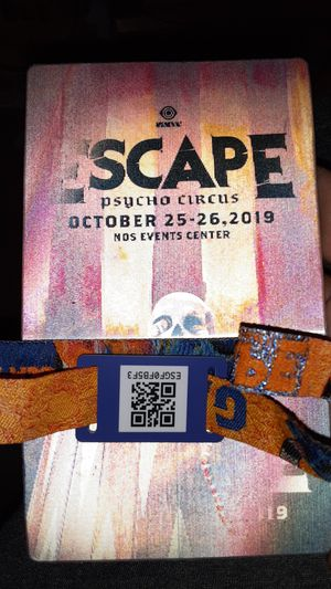 Escape ticket friday night for Sale in Temecula, CA